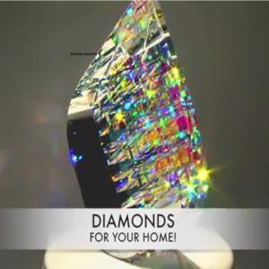 Jack Storm   شیشه گر آمریکایی- Diamonds for your home
